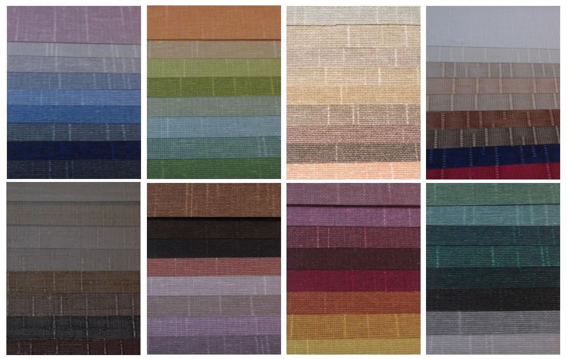Persianas alvega romanas for Persianas de color de moda